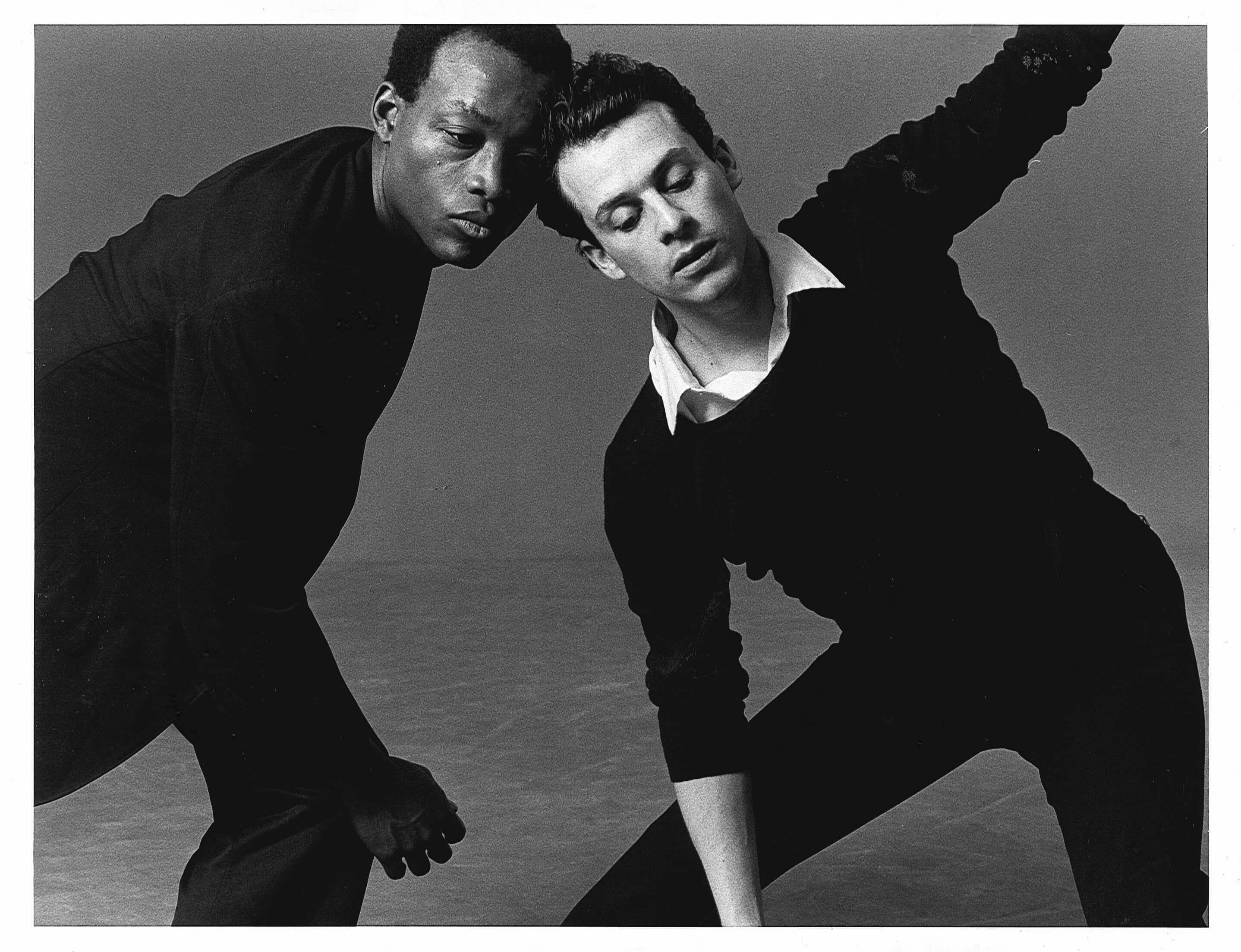 Bill T. Jones and Arnie Zane. (Photo: Lois Greenfield)