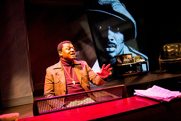 "Kelvin Roston, Jr., as Donny Hathaway in ""Twisted Melodies."" (Photo: Sam Roberson)"