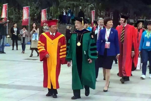 Washington University first North American member of the University Alliance of the Silk Road