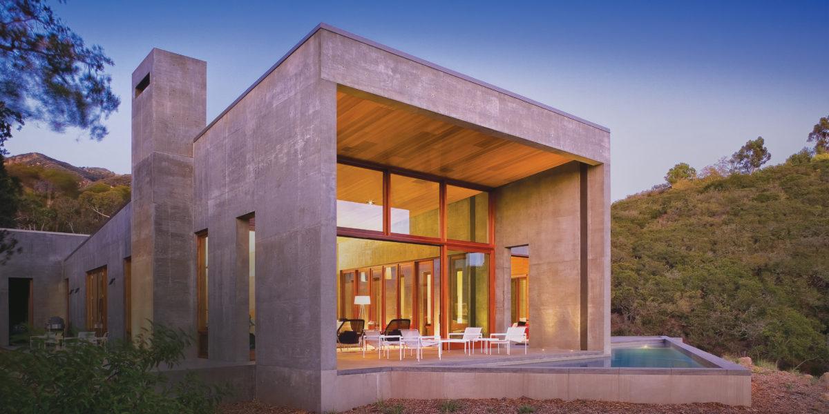 The Cohens' Toro Canyon Residence, Santa Barbara, California (©Ciro Coehlo/CiroCoehlo.com)