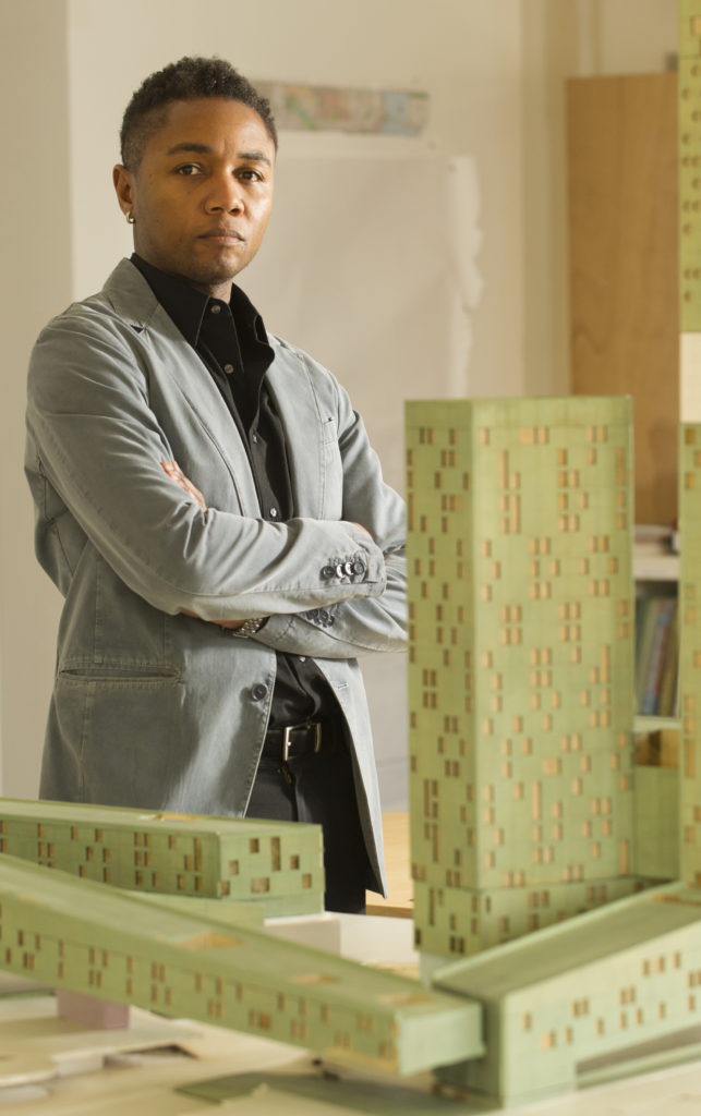 A licensed architect and urban designer, Marshall Brown is also an associate professor at the Illinois Institute of Technology College of Architecture. (David Durochik)