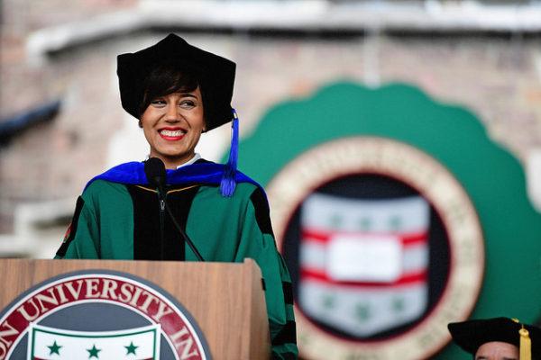 Graduate student Ashley Macrander's message to graduates