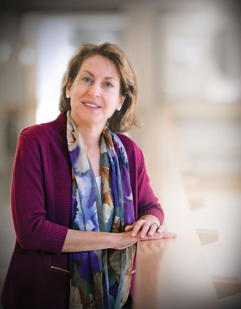 Lori Setton, PhD, the Lucy and Stanley Lopata Distinguished Professor of Biomedical Engineering (Photo: James Byard)