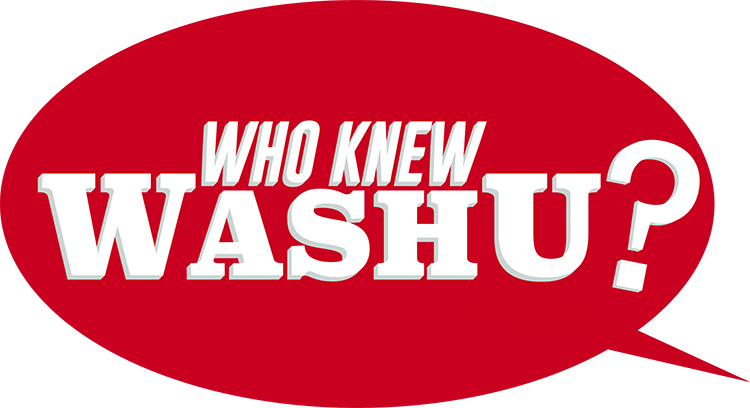 Who Knew WashU graphic