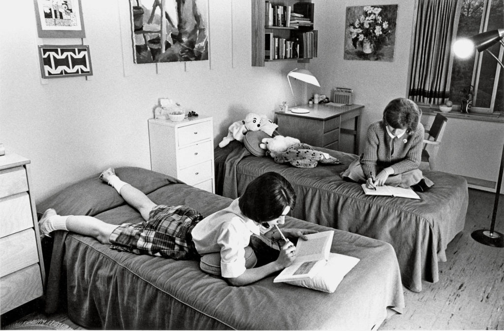 Women's dormitory, 1964 (Washington University Archives)
