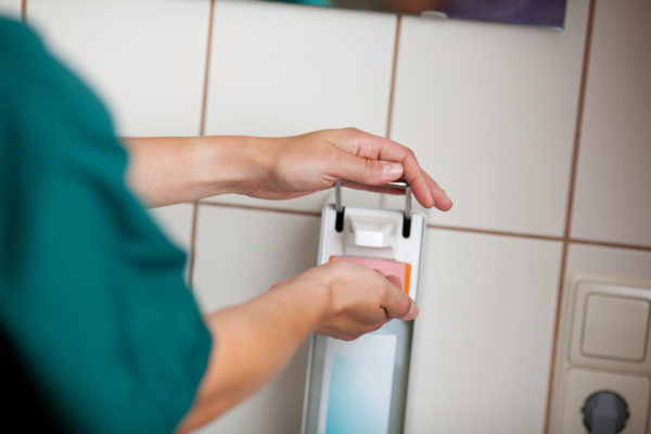 Motivation via monitoring: Research from Olin Business School shows that electronic monitoring of hand-washing compliance in hospitals works well — for a while.