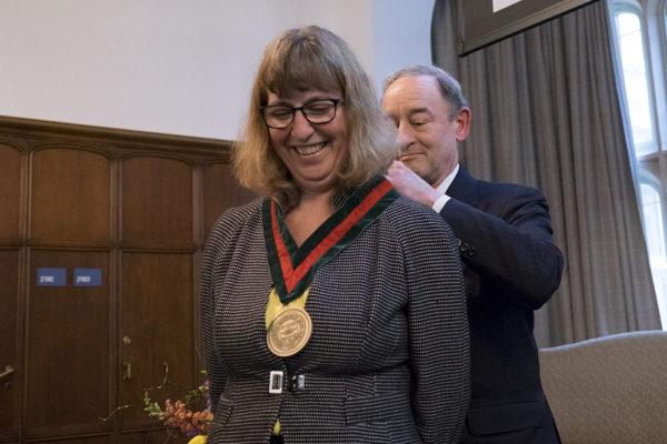 Jonson-Reid installed as Ralph and Muriel Pumphrey Professor of SocialWork