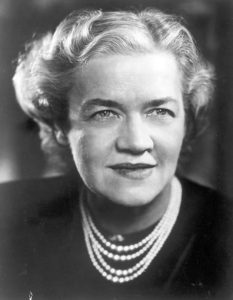 Margaret Chase Smith. Image courtesy of the U.S. Senate Historical Office.