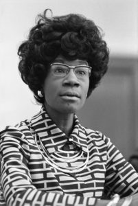 Shirley Chisholm. Image courtesy of the Library of Congress.