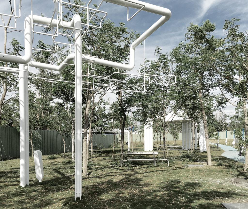 Jade Eco Park, 2011-2017. Philippe Rahm architectes, mosbach paysagistes, and Ricky Liu & Associates.