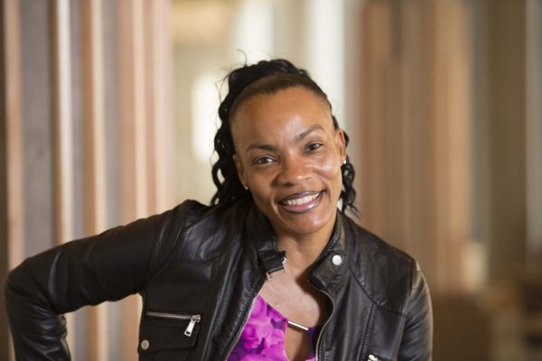 Shawntelle Fisher, MDiv/MSW student at the Brown School of WashU. Joe Angeles/WUSTL Photos