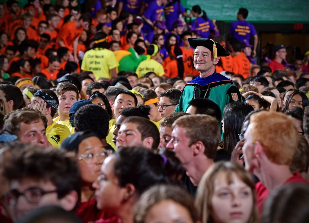 WashU Convocation on Thursday, Aug. 26, 2016. James Byard/WUSTL Photos
