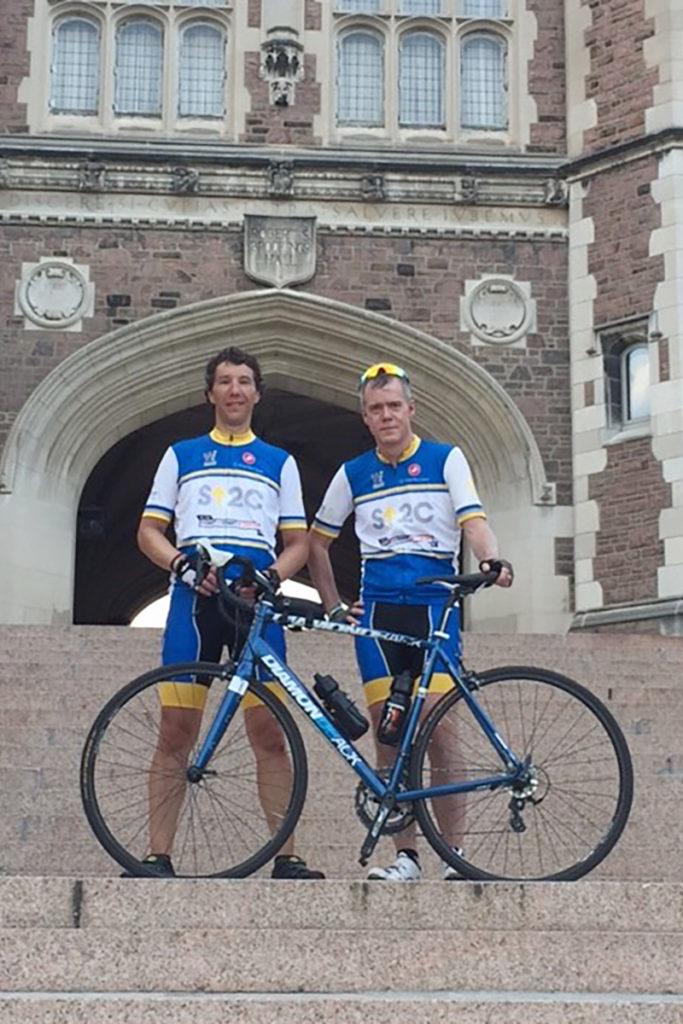 alumni biking