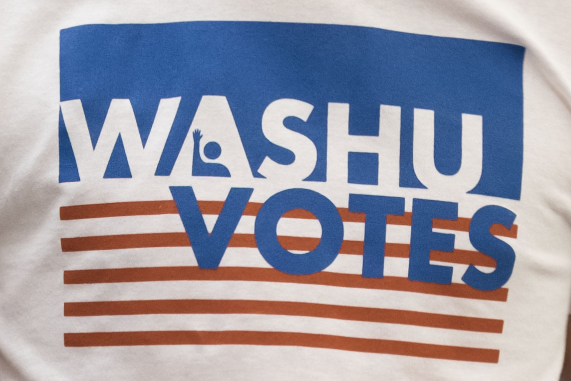 WashU Votes shirt