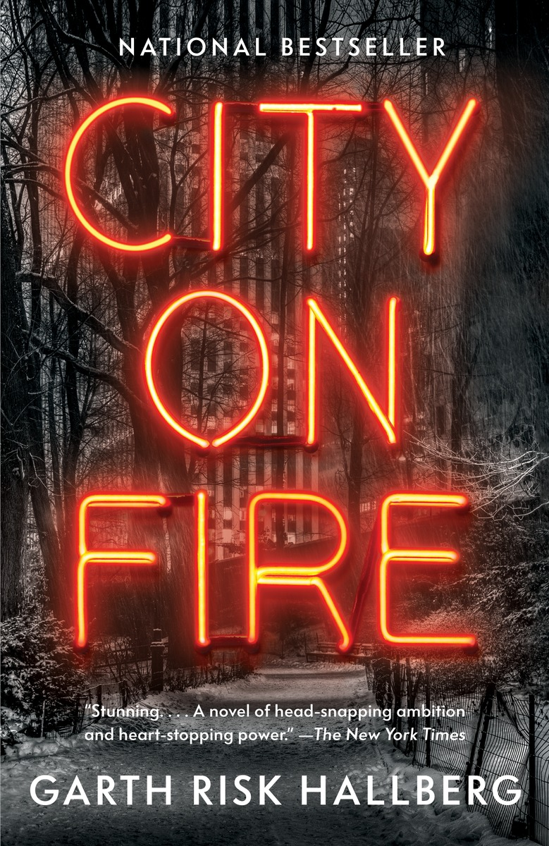 book cover for City on Fire