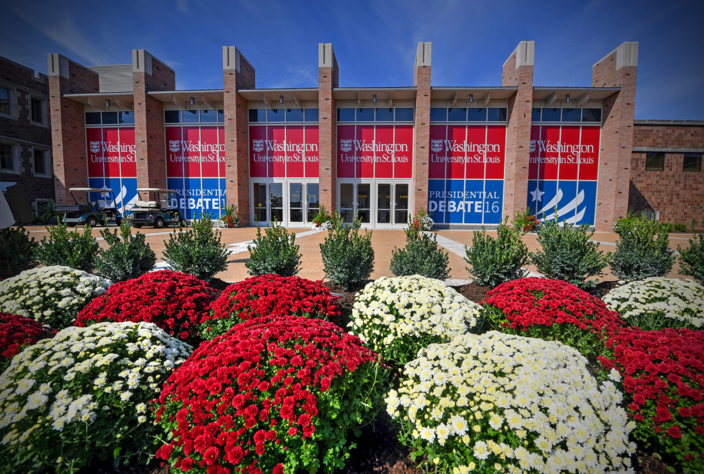 The Athletic Complex has never looked better and is ready to serve as a backdrop for history Sunday. (Photo: James Byard/Washington University)