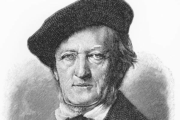 Richard Wagner. (Image: Shutterstock)