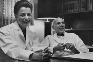 doctors laughing in an office
