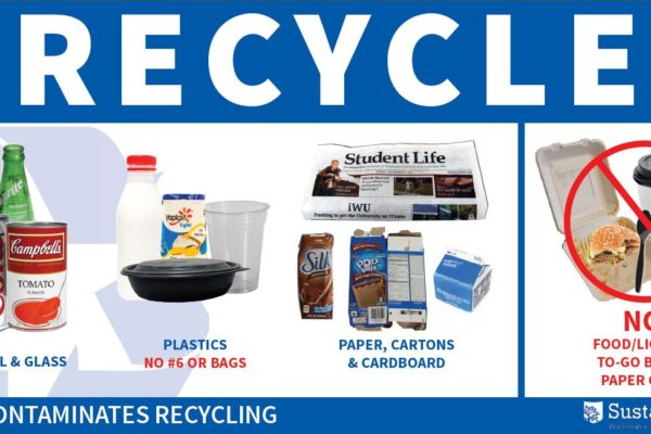 Smart sorting: University announces new recycling guidelines