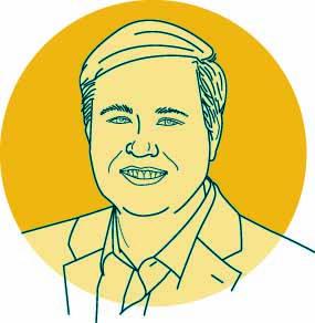 Illustration of WashU expert Cliff Holekamp