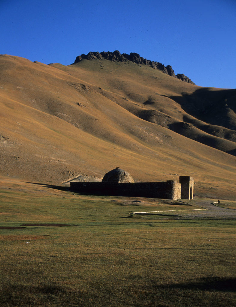 Tashrabat, an ancient Silk Road waystation high in the mountains of Krygyztan.