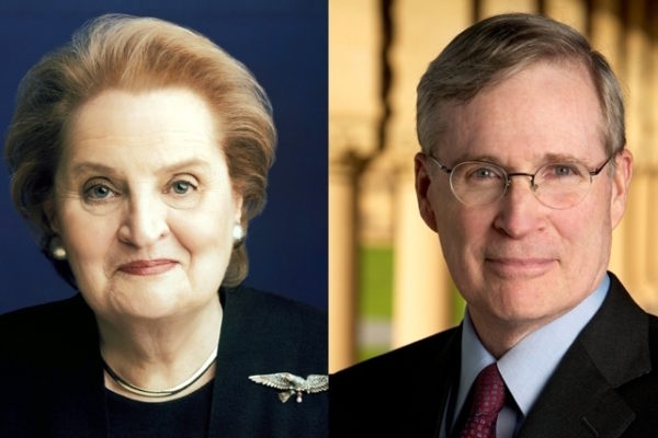 Albright, Hadley to discuss Middle East policy Wednesday