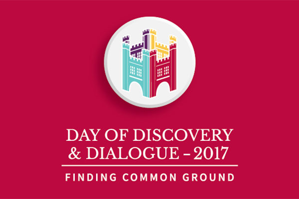 Day of Discovery & Dialogue to focus on finding common ground
