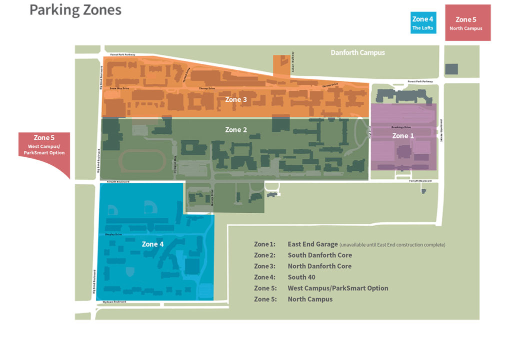 parking zone map