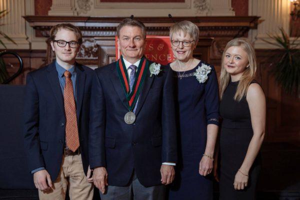 Wiens installed as the Robert S. Brookings Distinguished Professor