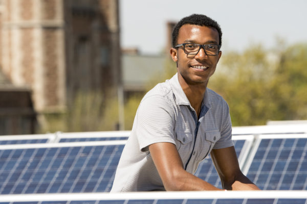 Class Acts: Running on solar power