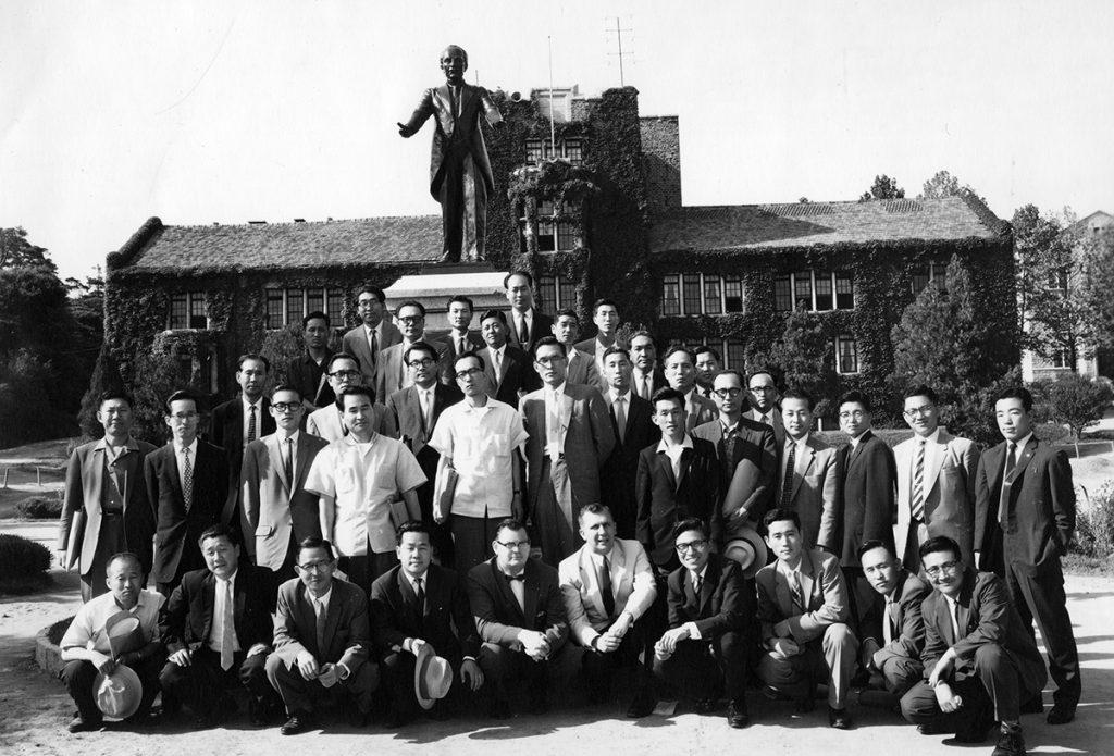 Korea Project historic photo