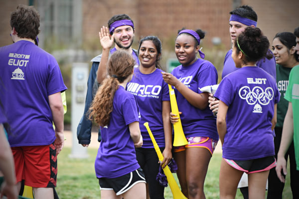 students take part in Res College Olympics