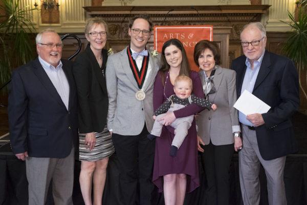 Jackson installed as Rosenzweig Associate Professor