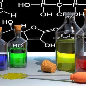 chemistry bottles - creative commons