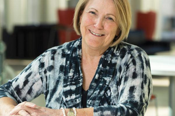Joyce Buchheit in Knight Hall