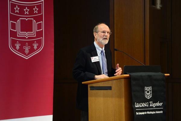 Washington University announces $20 million McDonnell Scholarship Challenge