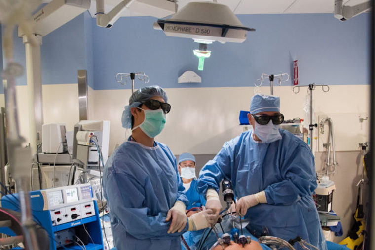 prostate cancer patient surgery