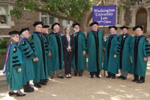 The School of Law Class of 1967 celebrated its 50th Reunion as well. (Dan Donovan/WUSTL Photos)