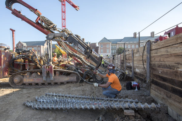 Classes resume as east end project ramps up