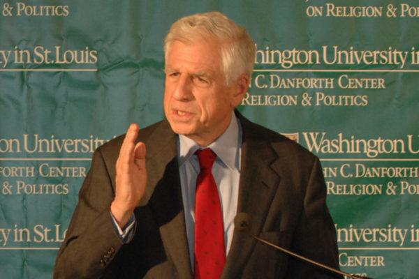 John Danforth to discuss divided nation Sept.6