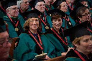Washington University's 50th Medallion Ceremony, May 18, 2017. (Dan Donovan/WUSTL Photos)