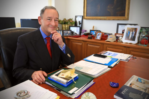 WashU Spaces: The Office of Chancellor Mark S. Wrighton