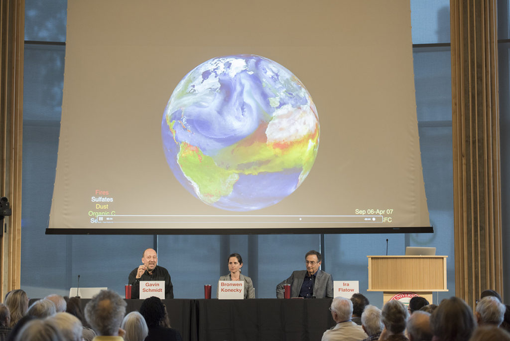 scientists discuss climate change