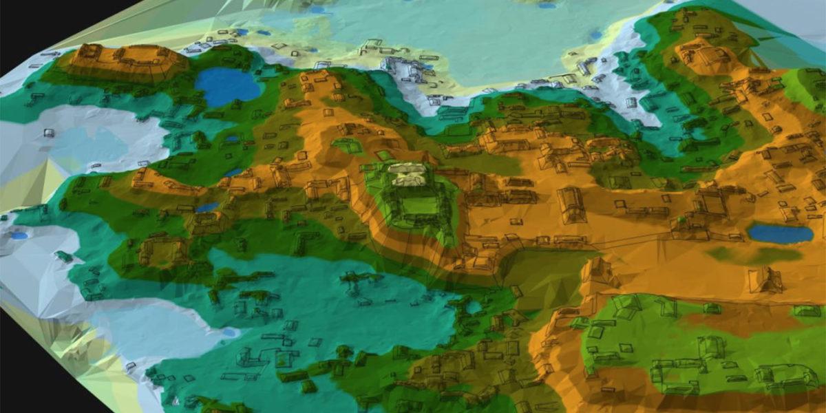 Map of Palace Acropolis