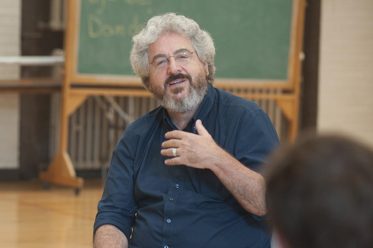 Harold Ramis speaks on campus