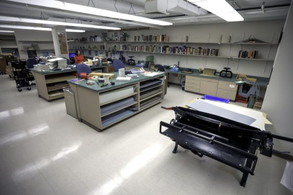 WashU Spaces: University Libraries Preservation Lab