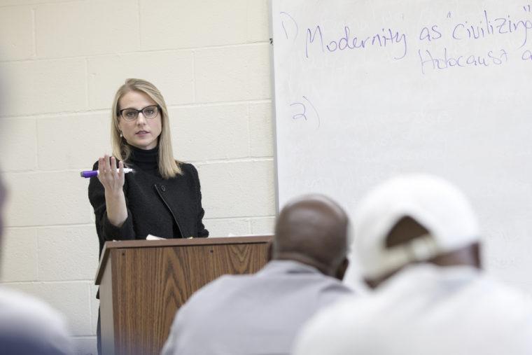 teacher in a prison