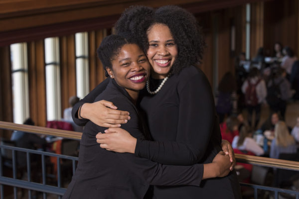 Jasmine Brown and Mimi Borders, Ervin and Rhodes Scholars