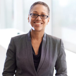 Chandra Stephens-Albright, MBA '87, serves managing director of True Colors Theatre Company in Atlanta, helping young people overcome adversity with poise and determination. (Courtesy photo)