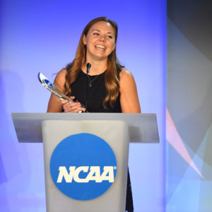 Lizzy Crist earns NCAA Woman of the Year award